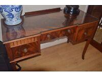 Antique desk/sidboard