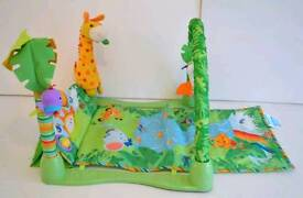 Baby Fisher price rainforest 123 musical gym
