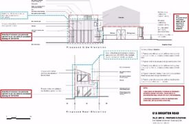 Qualified Architect - Drawings - Planning Permission application – Internal Layout – Refurbishments