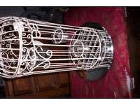 "18"" TALL BIRD CAGE FOR TABLE DECORATION"