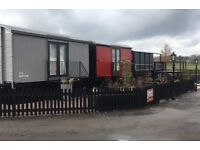 Professionally converted vintage railway carriages available for rent from £100 p/w