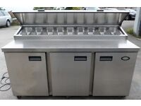 catering equipment / foster PIZZA prep FRIDGE (1.7m)