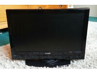 "Luxor 19"" TV with remote and built in dvd/cd player"