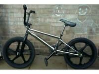 Custom Diamond Back Bmx Bike chrome frame mag wheels GT Oddessy haro