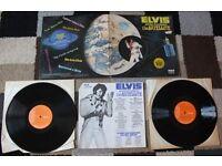 "ELVIS PRESLEY 'Aloha from Hawaii' Double 2x 12"" Vinyl RECORD 1973 Gatefold RCA"
