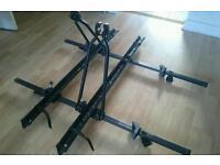 Car/Van roof rack, roof bars, 2x bike racks
