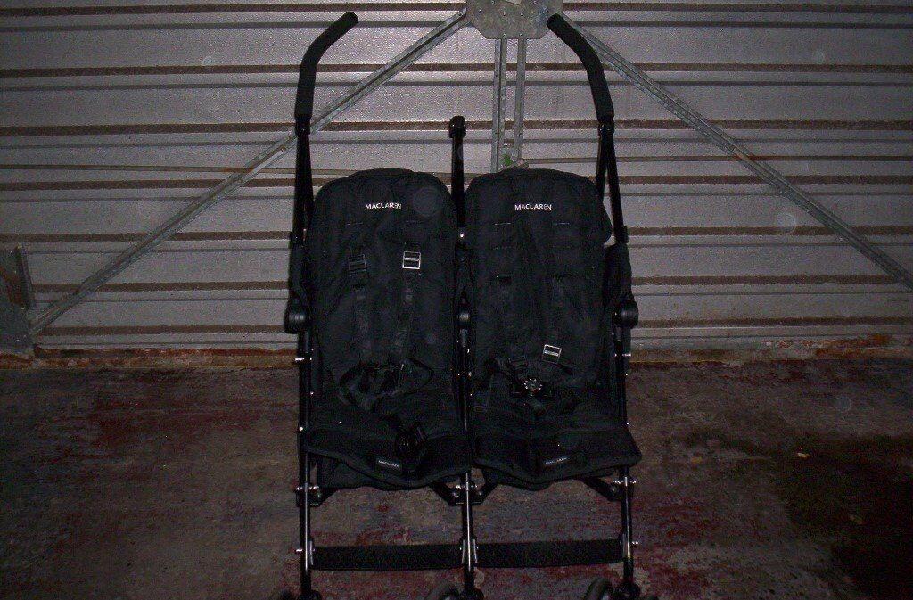 mcclaren double buggy
