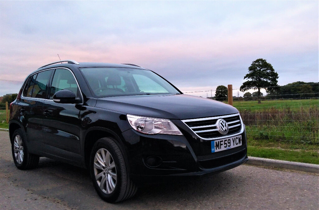 vw tiguan se 2 0 tdi 4x4 140 ps 59 plate 70k miles one owner smoke pet free 12 months mot. Black Bedroom Furniture Sets. Home Design Ideas