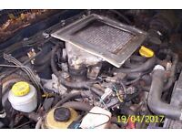 2.7 tdi engine from a nissan terrano and gearbox