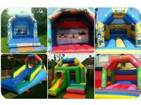 Bouncy castles for hire! Party/slide/cars/frozen/planes/minions from as little as £39 a day!