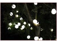 10M OUTDOOR GARDEN PARTY FESTOON BULB WEDDING GLOBE LED STRING LIGHTS