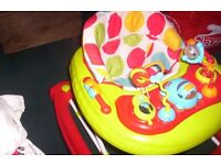 2 IN 1 RED KITE BABY WALKER