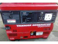 Yanmar suitcase generator