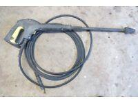 Karcher pressure washer handgun, hose and lance