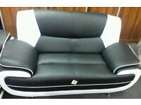 Italian Leather 3+2 Seater Sofa Suite - Brandnew