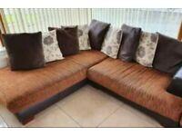 Corner Sofa, matching 2 Seater & Rug