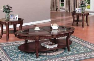 3 PIECE COFFEE TABLE SETS | CLEARANCE FURNITURE OUTLET HAMILTON -WWW.KITCHENANDCOUCH.COM (BD-274)