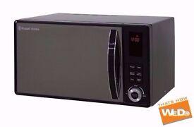 RUSSELL HOBBS 23L 23 LITRE BLACK DIGITAL MICROWAVE RHM2362B 800W 5 POWER LEVELS £45