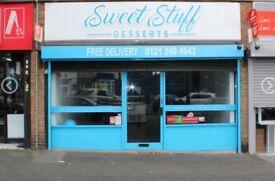 DESSERT SHOP BUSINESS FOR SALE TAKEAWAY