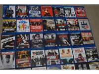 28 BLU RAYS & 22 DVDs £50 BUYER COLLECTS..NO OFFERS PLEASE £50 ONLY