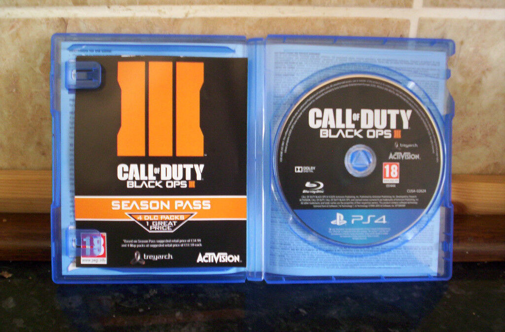 CALL OF DUTY BLACK OPS 3 PS4 [MINT CONDITION]