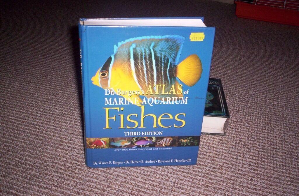 marine aquarium fish book