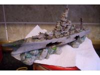 MASSAFE BATTLE SHIP ORNIMENT