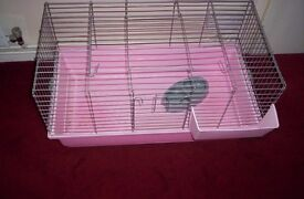 indoor rabbit cage pink