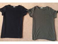 Black & Khaki Size 18 TShirts - Two For £5