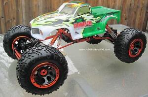 New RC  Rock Crawler Truck  1/8 Scale with 4 Wheel Steering City of Toronto Toronto (GTA) image 3