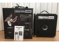 As New Boxed Hartke HD25 25 watt bass guitar combo amp amplifier