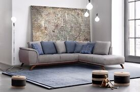 NAPOLI delivery 1-10 days Brand New Corner Sofa is distinguished by the sophisticated shape