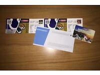 2 x NFL Front Row Club Wembley Tickets - Colts v Jaguars 02/10/16 London