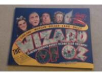 LARGE WIZARD OF OZ RETRO PRINTED CANVAS
