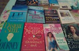 25 Novels £10.00. inc. Steele, Binchy, Picoult Brown many more