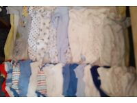 BOYS BABY BUNDLE - NEWBORN 0-3 MONTHS