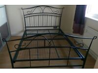 Solid double bed delivery available