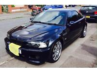 BMW e46 M3 Convertible Hardtop FSH Low Miles 53 Plate