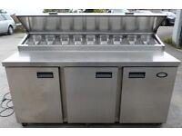 catering equipment / PIZZA prep FRIDGE (1.7m)