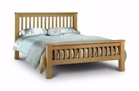 KING SIZE Solid Oak Bed Frame - URGENT sale