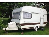 Lovely vintage 2 Berth caravan & awning - hobby/craft room, playhouse, accommodation! project!