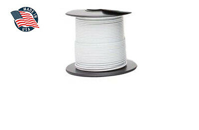 15ft Mil-spec High Temperature Wire Cable 16 Gauge White Tefzel M2275916-16-9