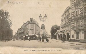 carte postale bureau de tabac vichy place victor hugo et rue de nimes ebay. Black Bedroom Furniture Sets. Home Design Ideas