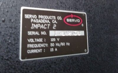Servo 4 Axis Mini Mill Milling Machine Control Box Model Impact 2