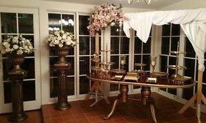 Prop party hire gold tables for hire Milperra Bankstown Area Preview