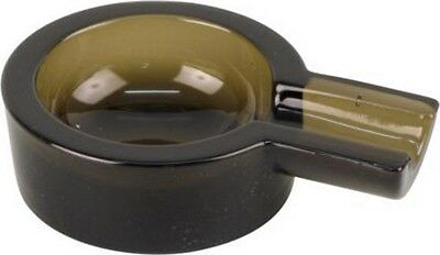 Zigarrenascher Rauchglas rund 8.5cm/1 Ablage Höhe 3.5cm  NEU/OVP