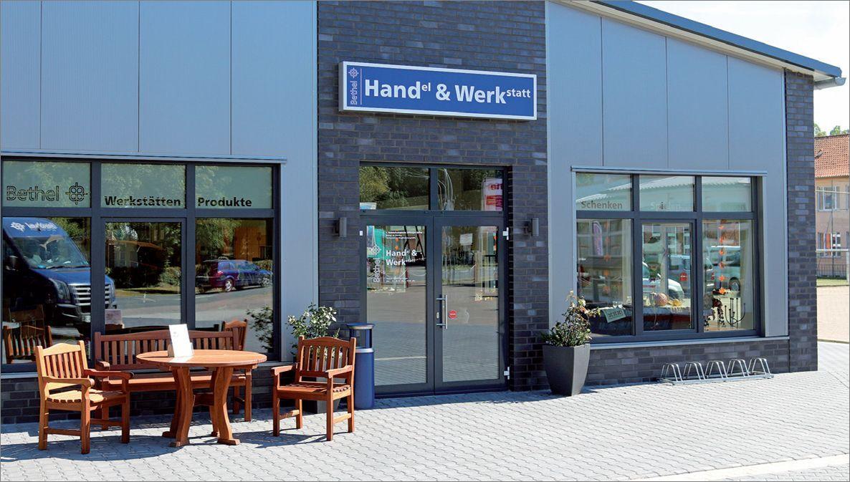Handel und Werkstatt, Stift. Bethel