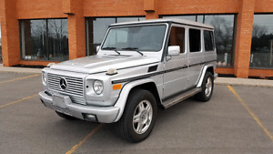 2003 Mercedes Benz G 500 SUV. Certified Etested