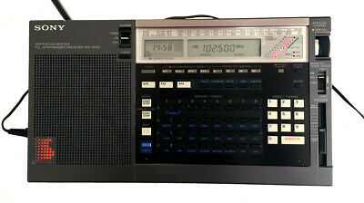 Sony ICF-2010 AM/FM/Shortwave Radio Receiver----Good Condition----