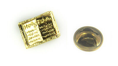 Christian Pins (6030418 Holy Bible Lapel Pin Christian Word Brooch Tie)